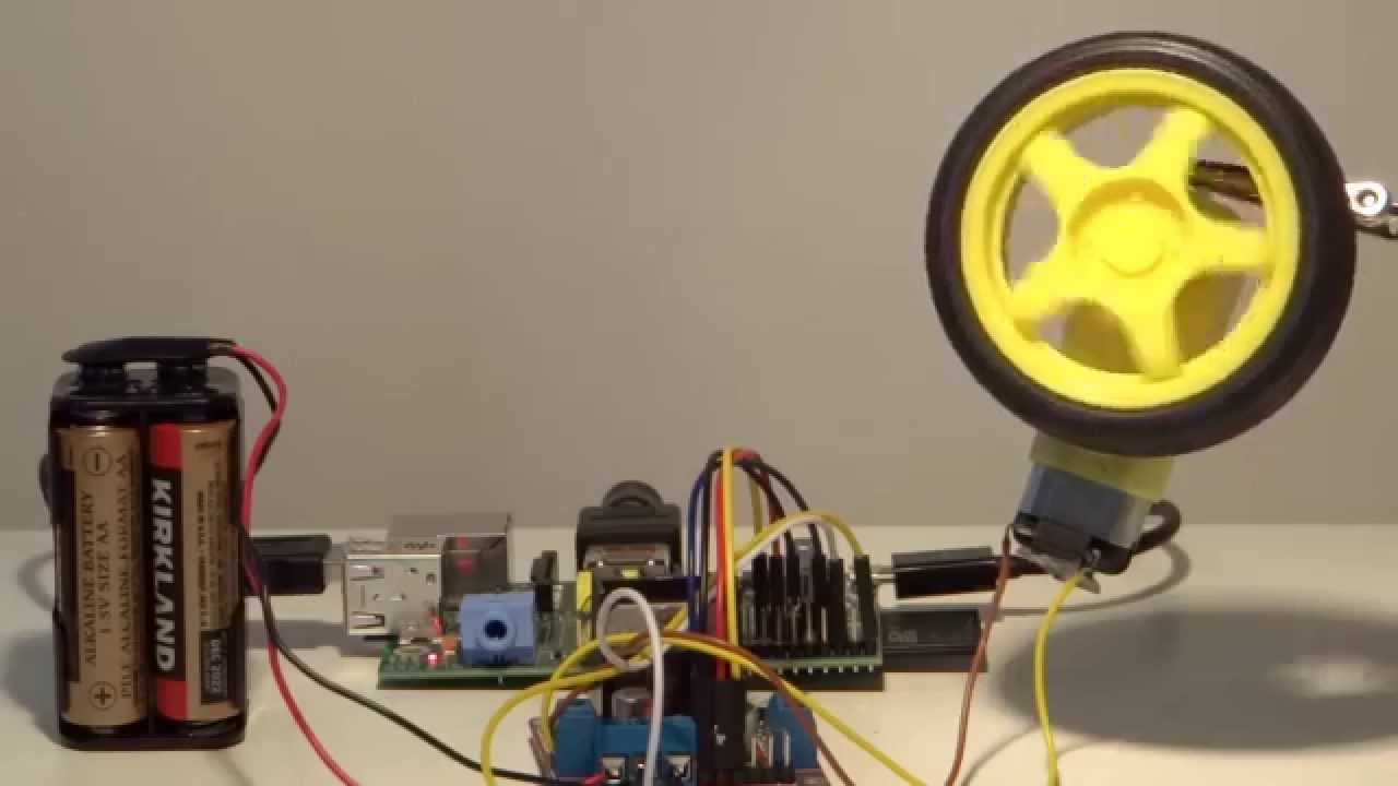 Tutorials Videos The Raspberry Pi Guy Control Of Motor Speeds Old How To Motors