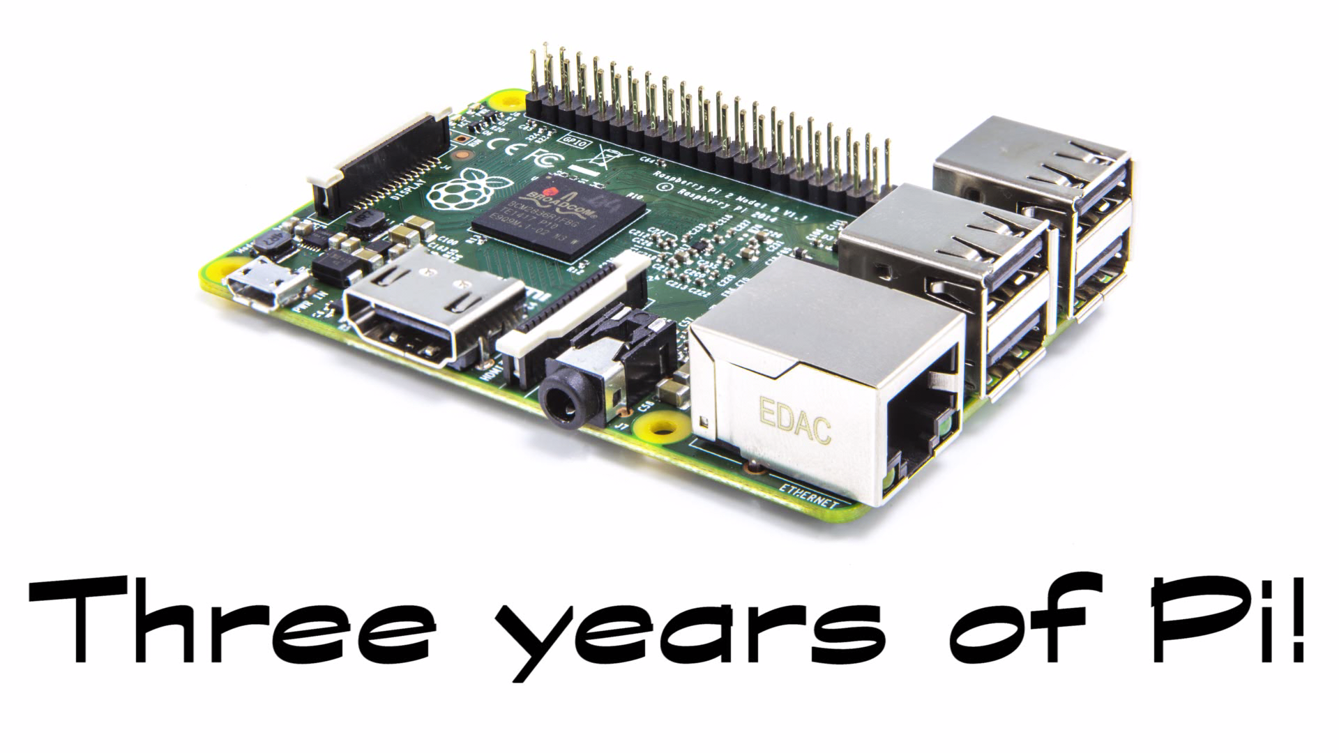 three years of pi